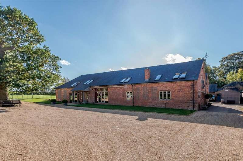 6 Bedrooms Barn Conversion Character Property for sale in Wem Road, Clive, Shrewsbury, Shropshire