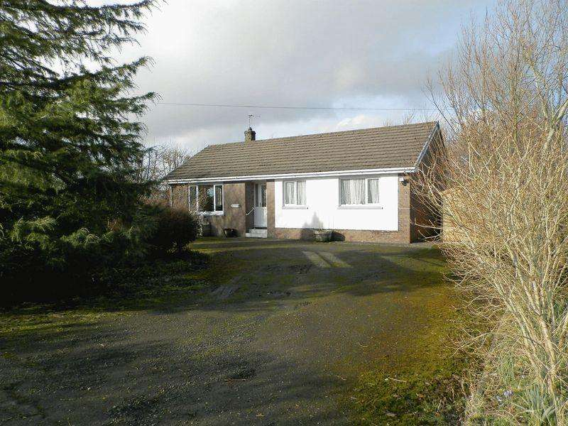 3 Bedrooms Detached Bungalow for sale in Maesycrugiau, Llanllwni