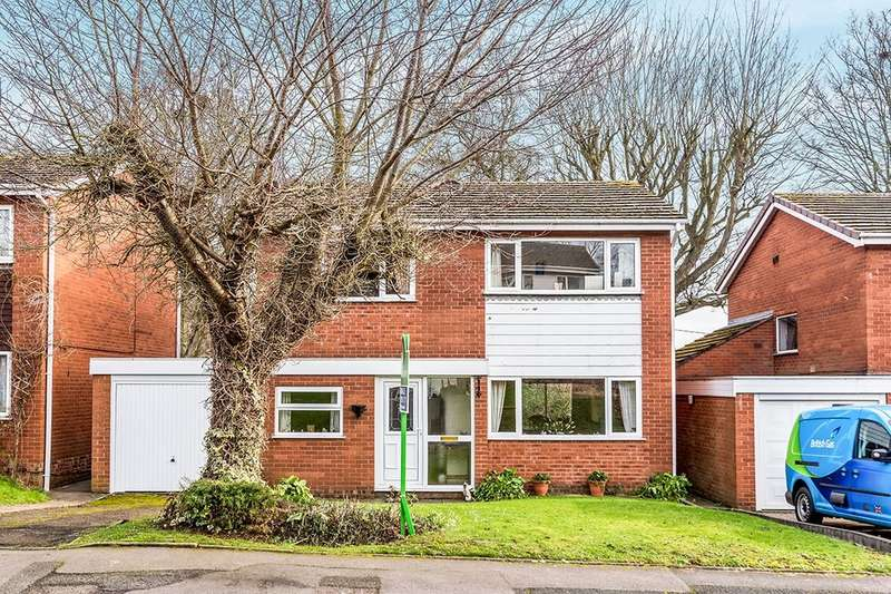 4 Bedrooms Detached House for sale in St. Michaels Close, Madeley, Telford, TF7