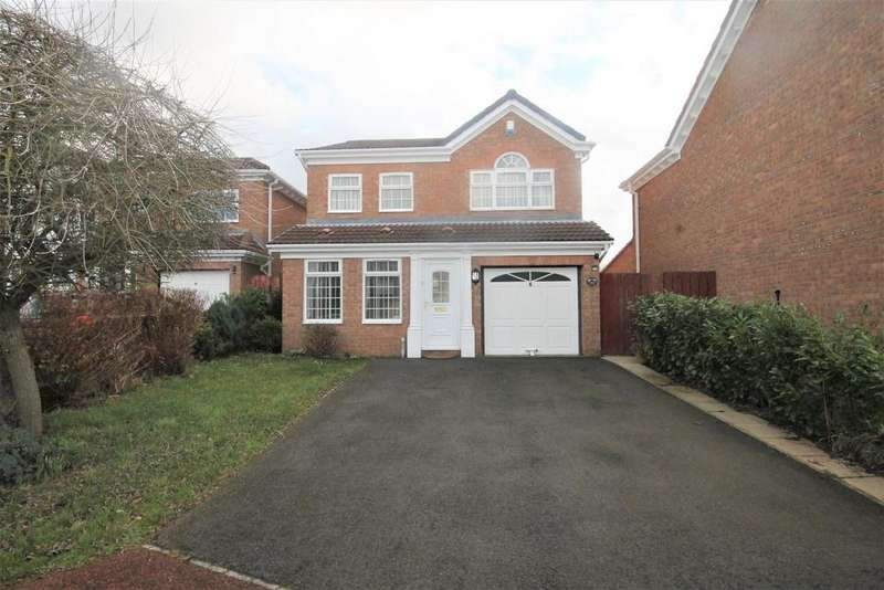 4 Bedrooms Detached House for sale in Dewberry, Coulby Newham, Middlesbrough