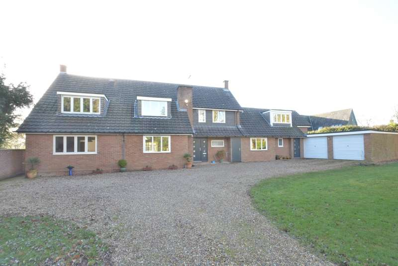 6 Bedrooms Detached House for sale in Long Thurlow Road, Badwell Ash