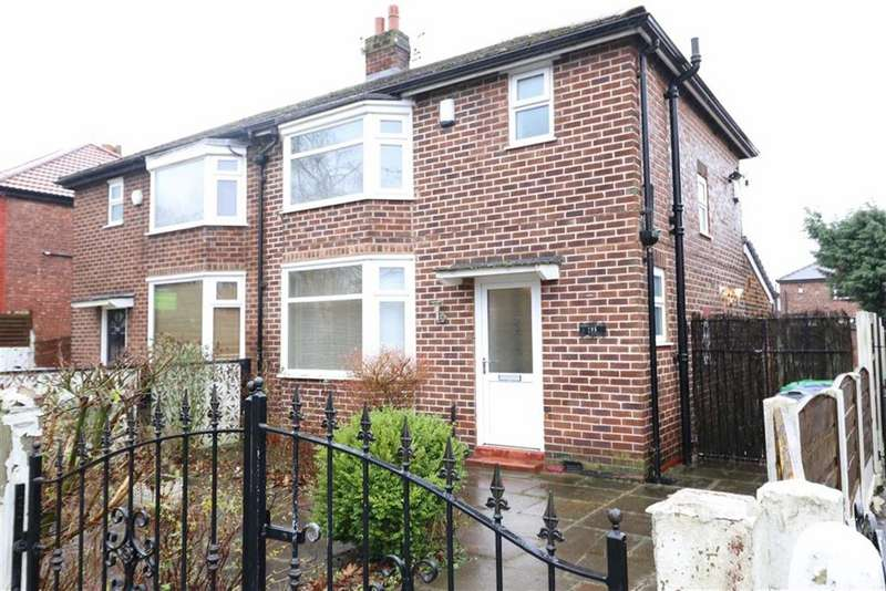 3 Bedrooms Semi Detached House for sale in Barlow Moor Road, Chorlton, Manchester, M21