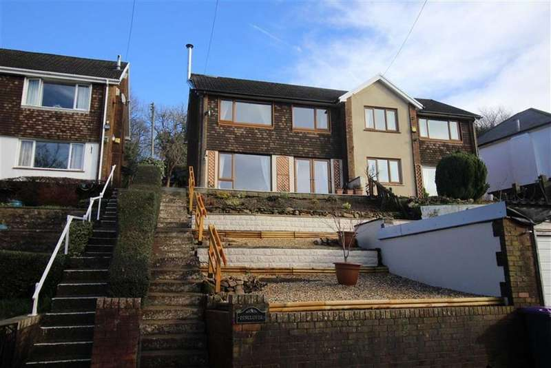 3 Bedrooms Semi Detached House for sale in Leigh Road, Pontypool