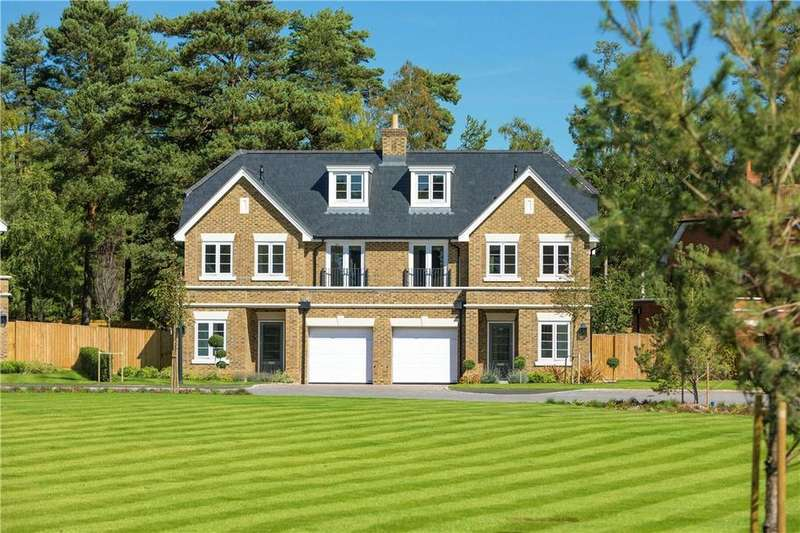 3 Bedrooms Semi Detached House for sale in Kings Ride, Ascot, Berkshire, SL5