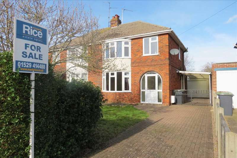3 Bedrooms Semi Detached House for sale in North Parade, Sleaford