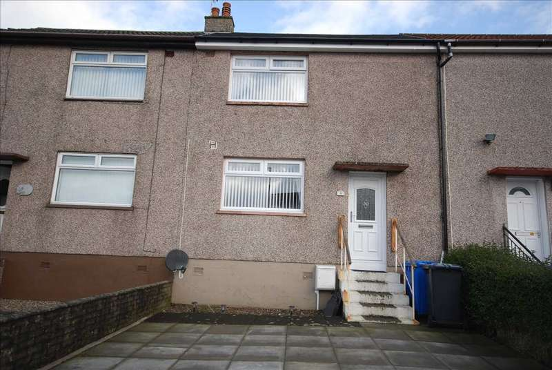 2 Bedrooms Terraced House for sale in Ellisland Place, Saltcoats