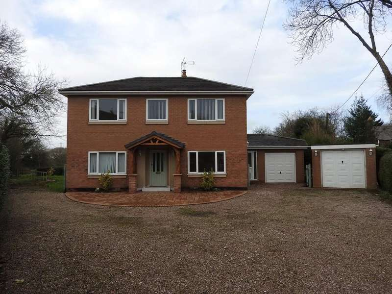3 Bedrooms Detached House for sale in West Road, Weaverham, Northwich