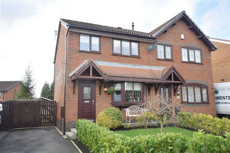 3 Bedrooms Semi Detached House for sale in Camberwell Drive, Ashton-under-lyne