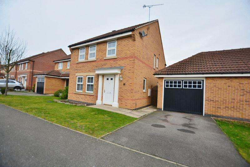 4 Bedrooms Detached House for sale in Wilkinson Way, Scunthorpe
