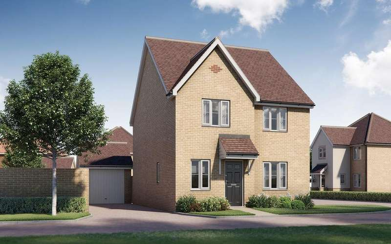 4 Bedrooms Detached House for sale in Plot 53, The Wingham, Tavistock Place, BEDFORD, MK45