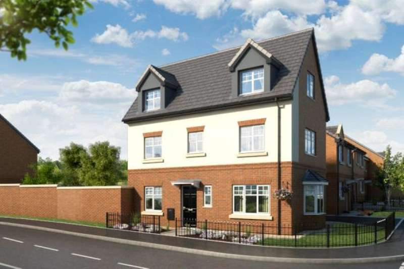 4 Bedrooms Detached House for sale in The Overton, Gibfield Park Avenue, Atherton, Manchester, M46