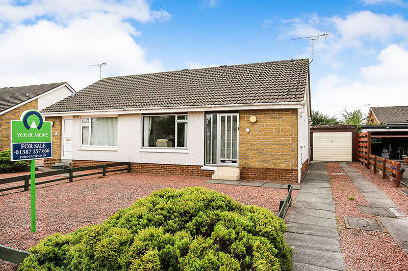 2 Bedrooms Semi Detached Bungalow for sale in Oakfield Drive, Dumfries, DG1