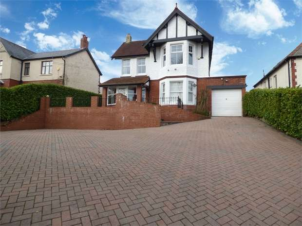 5 Bedrooms Detached House for sale in South View Road, Blackwood, Caerphilly