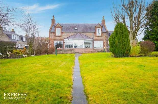 4 Bedrooms Detached House for sale in Main Street, Fyvie, Turriff, Aberdeenshire