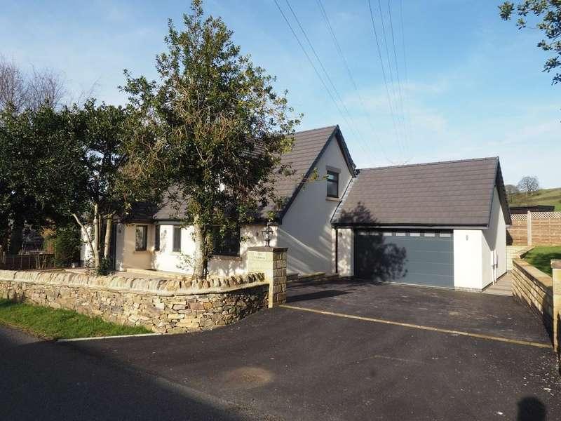 4 Bedrooms Detached House for sale in Laneside Road, New Mills, High Peak, Derbyshire, SK22 4LU