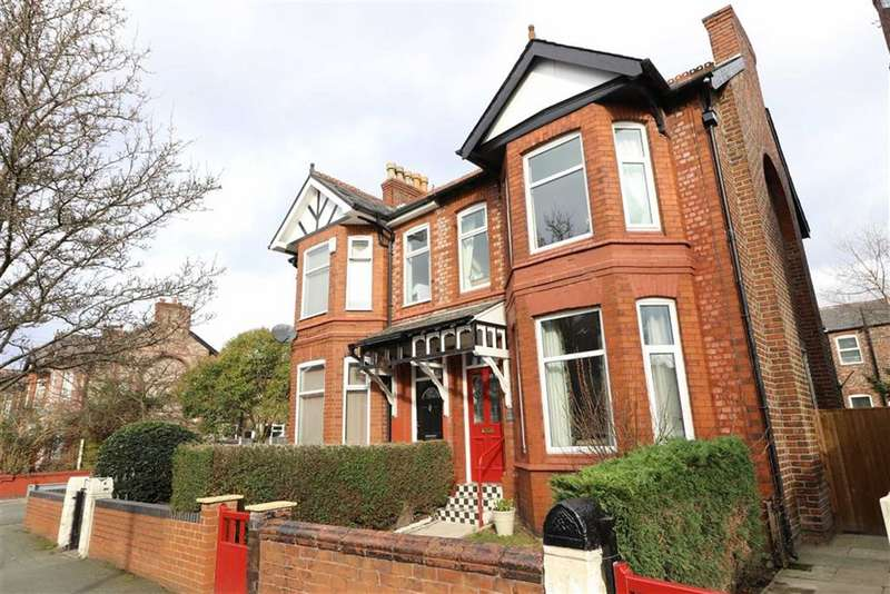 4 Bedrooms Semi Detached House for sale in Corkland Road, Chorlton, Manchester, M21
