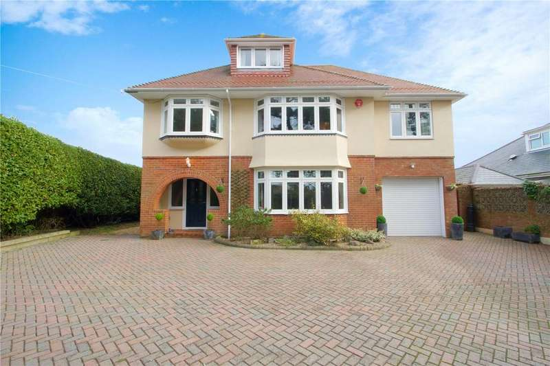 5 Bedrooms Detached House for sale in Becton Lane, Barton On Sea, Hampshire, BH25