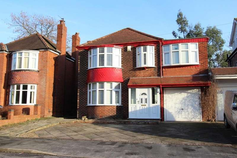 4 Bedrooms Detached House for sale in Whitehurst Road, Heaton Mersey