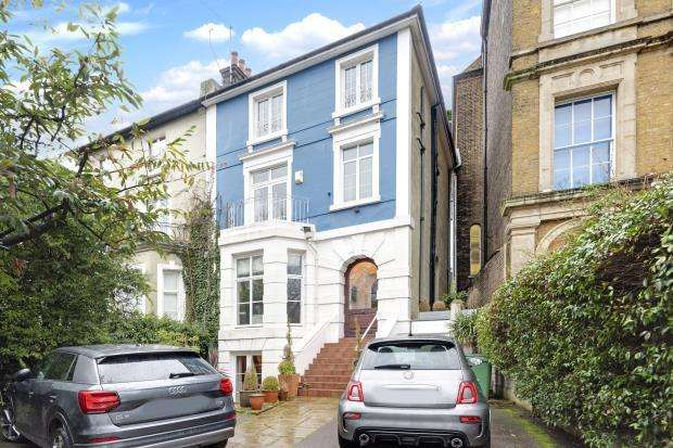 5 Bedrooms Semi Detached House for sale in St. Albans Villas, Highgate Road, Dartmouth Park, London, NW5
