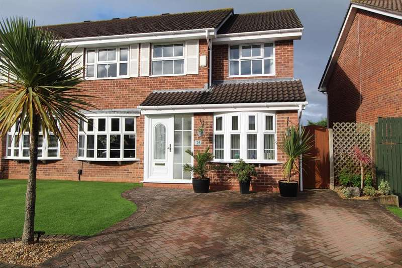 4 Bedrooms Semi Detached House for sale in Stoneberry Road, Whitchurch, Bristol, BS14 0JF