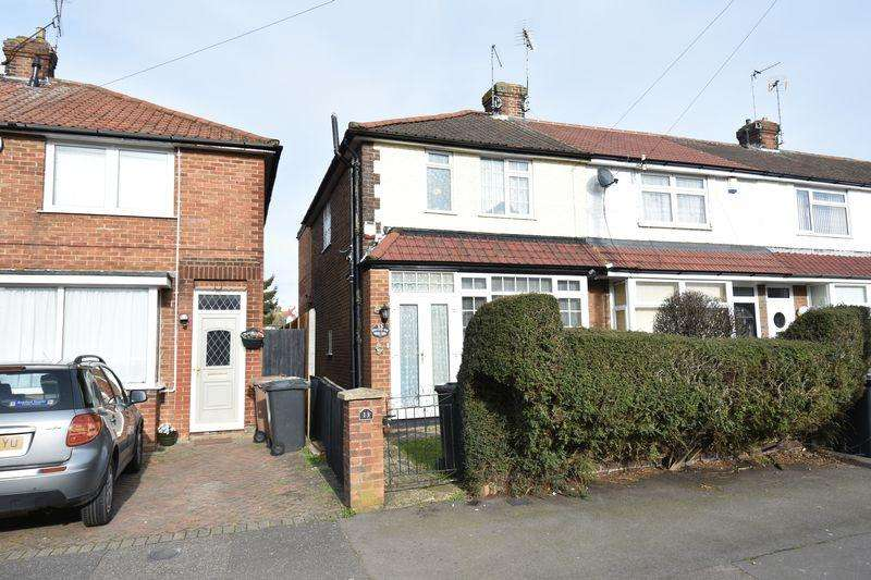 3 Bedrooms End Of Terrace House for sale in Applecroft Road, Luton
