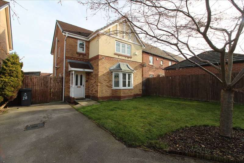 3 Bedrooms Detached House for sale in Chadwick Way, Kirkby