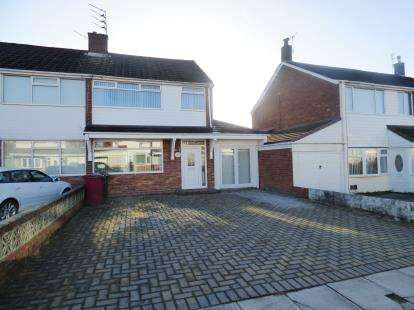 3 Bedrooms Semi Detached House for sale in Mount Crescent, Liverpool, Merseyside, L32