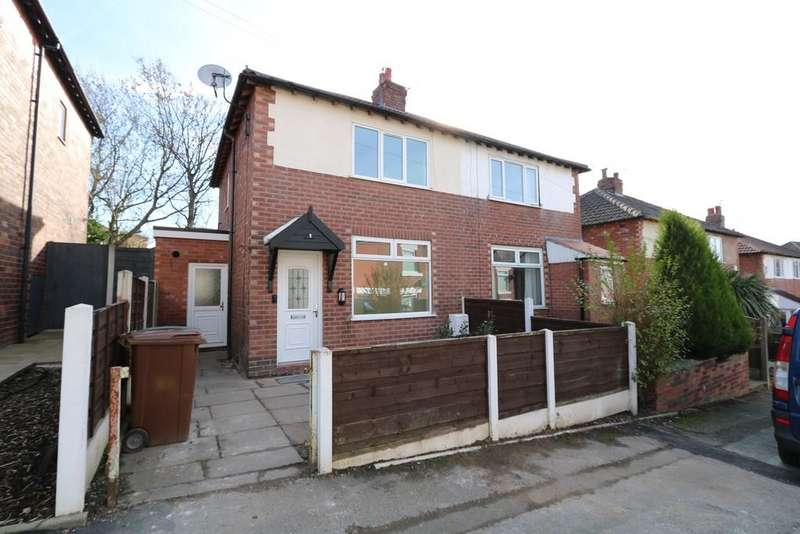 2 Bedrooms Semi Detached House for sale in Stream Terrace, Offerton