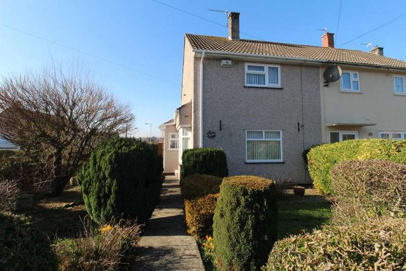2 Bedrooms End Of Terrace House for sale in Whittock Road, Stockwood, Bristol, BS14 8DD