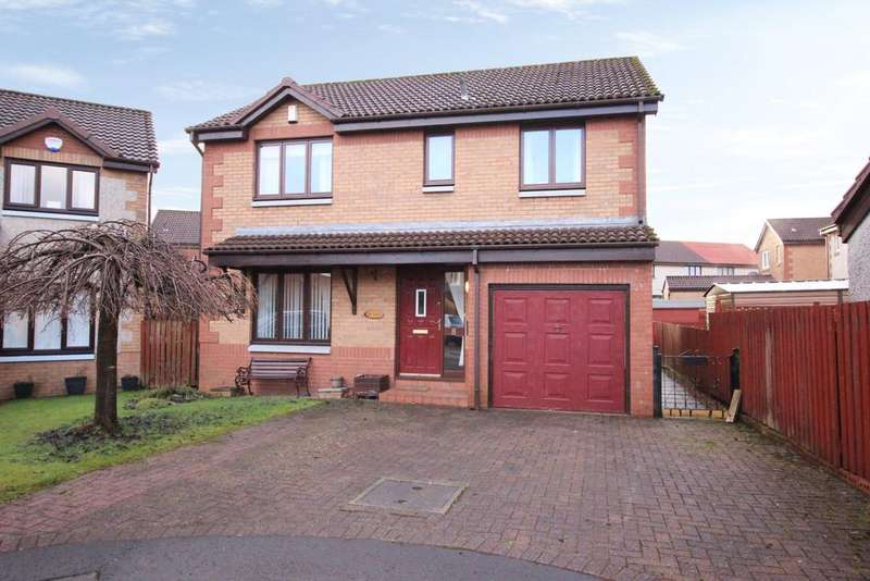 4 Bedrooms Detached House for sale in 8 Morar Court, Clydebank, G81 2YD