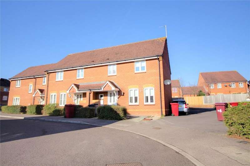 3 Bedrooms End Of Terrace House for sale in Swallows Croft, Reading, Berkshire, RG1