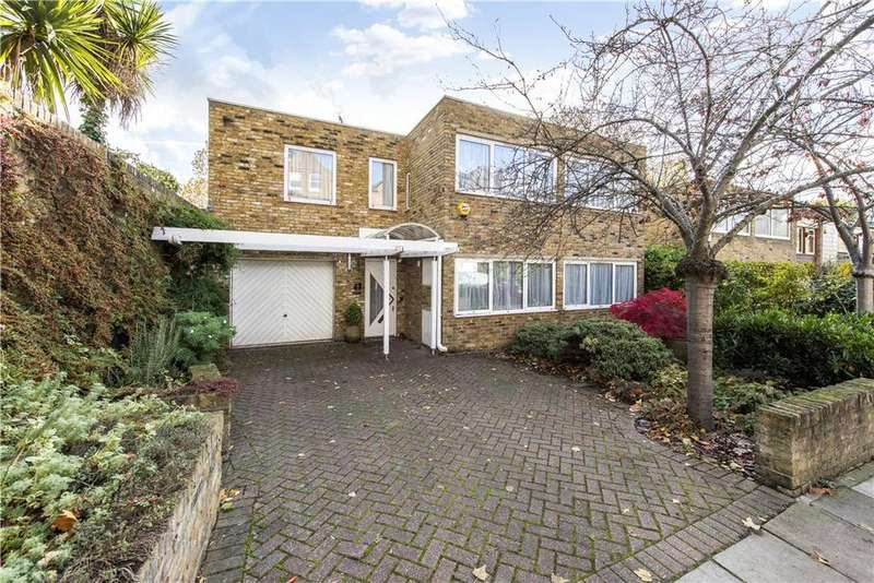 5 Bedrooms Detached House for sale in Ornan Road, London, NW3