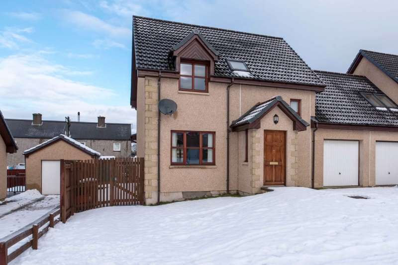 3 Bedrooms Link Detached House for sale in Coopers Court, Craigellachie, Aberlour, AB38 9TH