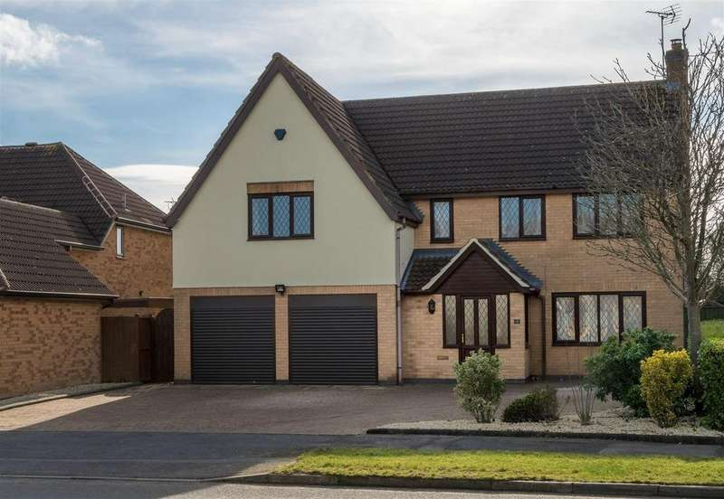5 Bedrooms Detached House for sale in Forest House Lane, Leicester Forest East
