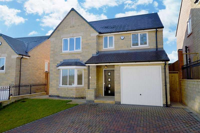 4 Bedrooms Detached House for sale in The Larch, Tarry Fields Court, Crich, Derbyshire