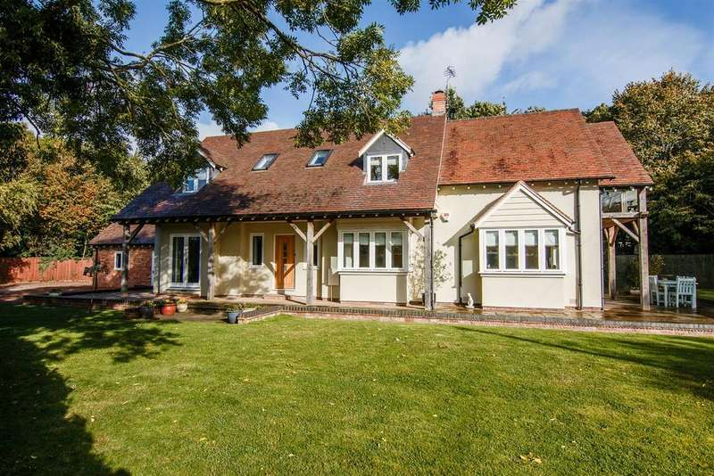 4 Bedrooms Detached House for sale in Pulley Lane, Newland, Droitwich Spa, Worcestershire