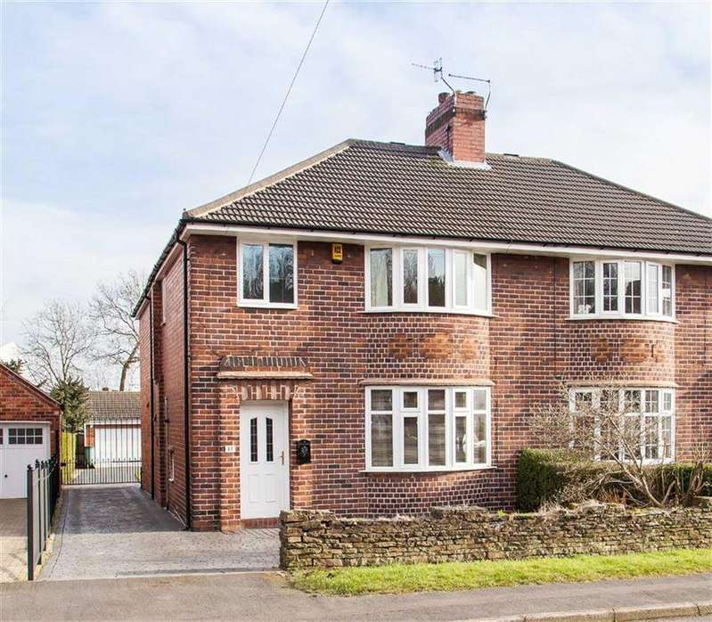 3 Bedrooms Semi Detached House for sale in Malvern Road, Brockwell, Chesterfield, S40