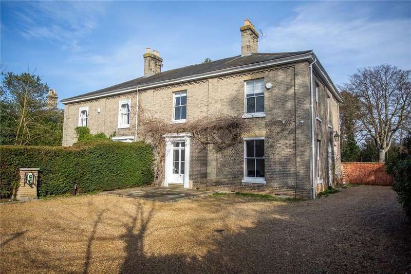 5 Bedrooms Semi Detached House for sale in Town Close Road, Norwich
