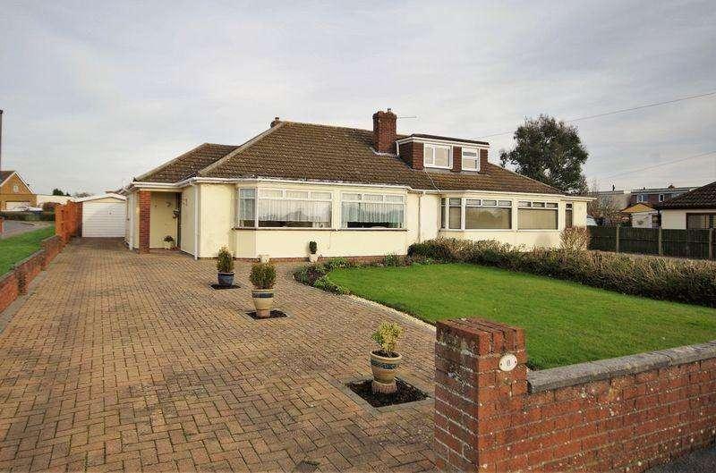 2 Bedrooms Semi Detached Bungalow for sale in Shellmor Avenue, Stoke Lodge, Bristol
