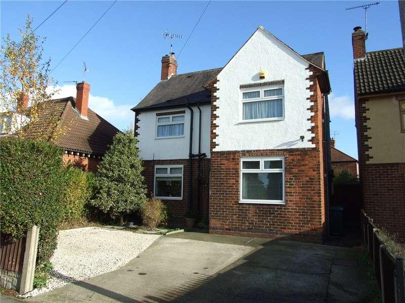 5 Bedrooms Detached House for sale in Nottingham Road, Alfreton, Derbyshire, DE55