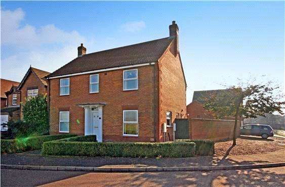 4 Bedrooms Detached House for sale in Sorrel Drive, Spalding, Lincolnshire, PE11