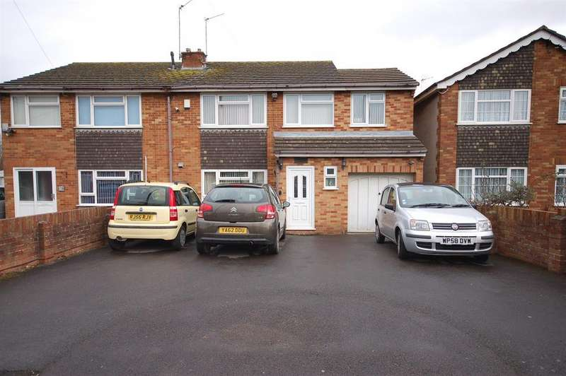 3 Bedrooms Semi Detached House for sale in Tenniscourt Road, Kingswood, Bristol BS15 4LE