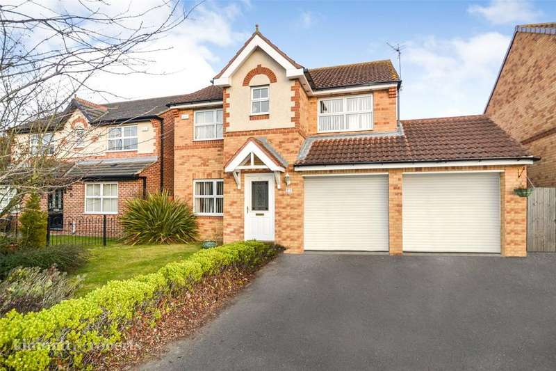 4 Bedrooms Detached House for sale in Donerston Grove, Peterlee, Co.Durham, SR8