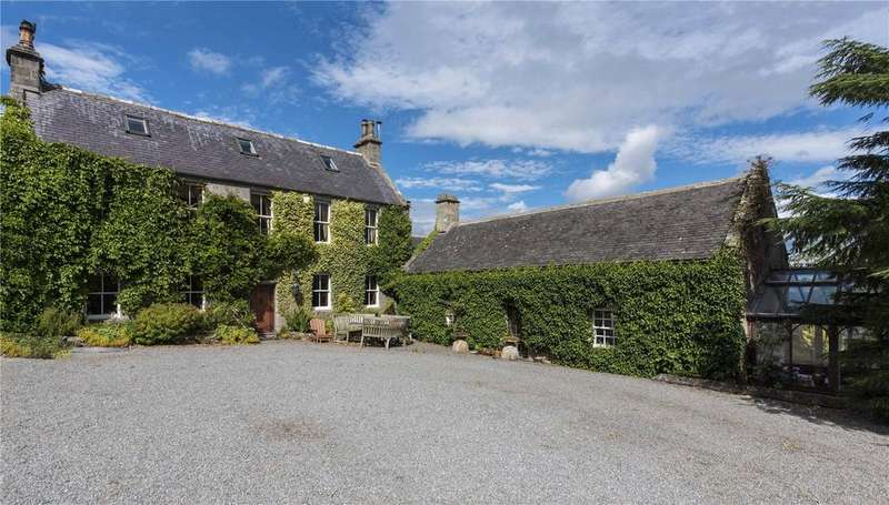 8 Bedrooms Detached House for sale in Mains Of Shiels, Sauchen, Inverurie, Aberdeenshire, AB51