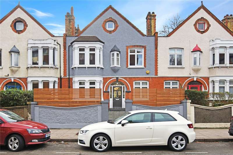 4 Bedrooms Terraced House for sale in Carleton Gardens, Brecknock Road, London, N19