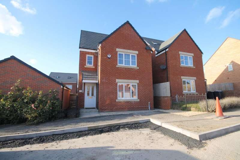 4 Bedrooms Detached House for sale in Drummond Way, Shildon