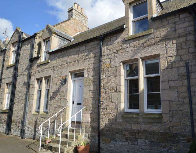 2 Bedrooms Terraced House for sale in 2 Viewfield Terrace, Leet Street, Coldstream, Berwickshire