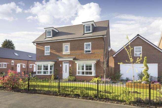 5 Bedrooms Detached House for sale in Brooklands, Fen Street, Broughton, Milton Keynes MK10