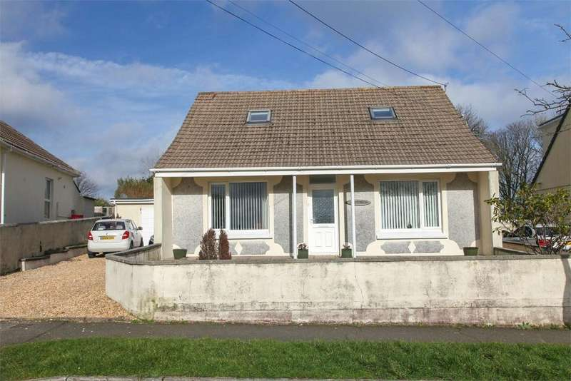 6 Bedrooms Detached Bungalow for sale in Hall Road, St Dennis, ST AUSTELL, Cornwall