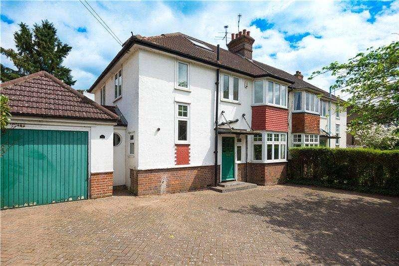 4 Bedrooms Semi Detached House for sale in Harpenden Road, St. Albans, Hertfordshire